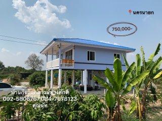 บ้านกึ่งน็อคดาวน์ทรงปั้นหยา 71 ตารางเมตร