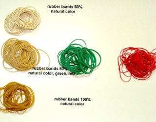 Various Qualities Rubber Bands