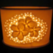 Electric Oil Burner Frangipani, Ceramic Oil Burner