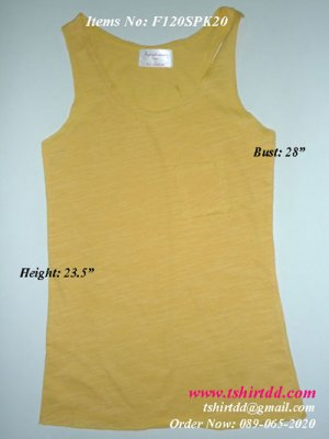 Singlet manufacturer Thailand, wholesale cloths