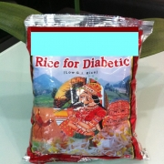 Diabetic Rice, Thai parboiled rice