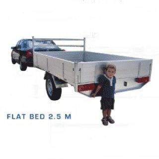 รถพ่วงกระบะ 2.5 เมตร