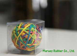 Colored rubber bands export