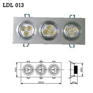 LED Downlight AC 100-230V 50/60Hz (LDL 013) , LED Light Bulb