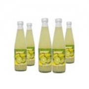 Lime Juice in bottles, Thai Coconut milk