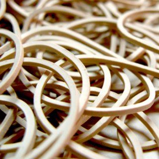 Compound White Rubber Bands, Rubber Band