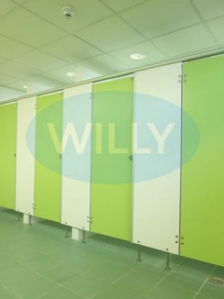 จำหน่ายแผ่นกั้นห้องน้ำสำเร็จรูป WILLY