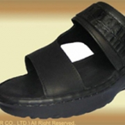 Leather Shoes Slipper