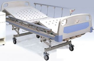 เตียงผู้ป่วยมือหมุน 2 ไก 3 ไก