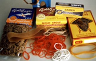 Rubber Band In Various Packing, Rubber Band