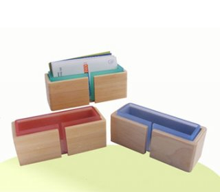 Bamboo Wood Name Card Holder, gift souvenirs