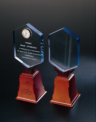 Acrylic Shield Award, gift souvenirs