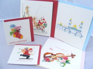 Quilling Paper Card, gift souvenirs