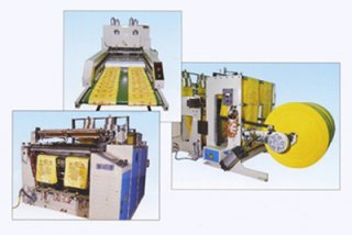 Automatic T-Shirt Bags Making Machine, Plastic bag making machine
