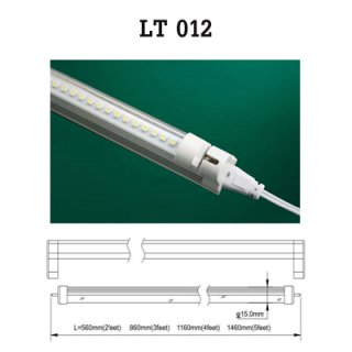 9W LED Tube T5 (Transparent) , LED Light Bulb