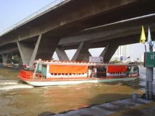 Chao Phraya River Ferryboat