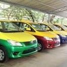 รถแท็กซี่โตโยต้า