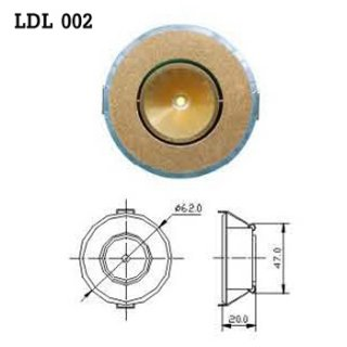LED Downlight AC 100-230V 50/60Hz (LDL 002), LED Light Bulb