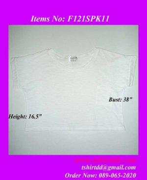 Loose Short T-Shirt F121SPK11, wholesale cloths