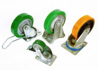 Rubber Wheel Caster, Industrial, rubber, products