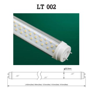 12W LED Tube T8/T10 (Transparent), LED Light Bulb