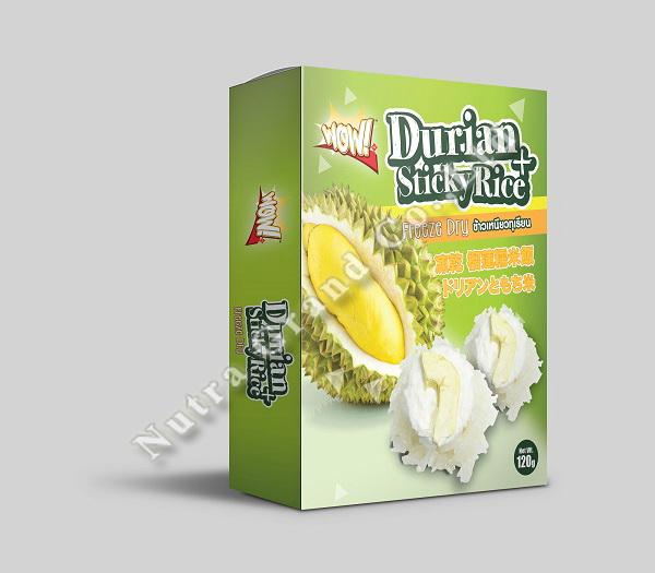 Freeze dried durian sticky rice 120g