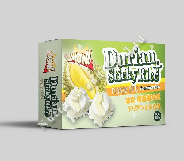 Freeze Dried Durian Sticky Rice
