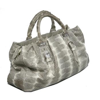 ขายกระเป๋าหนังงูทะเล