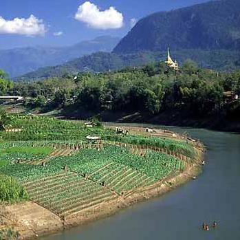 Namngum Dam in Laos