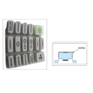 Keypad Coating Plastic., Rubber Keypad