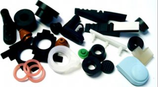 Silicone Rubber Components, Rubber Keypad