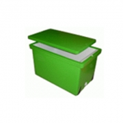 Plastic Ice Container