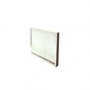 Broad pleated Aluminum filter with Aluminum frame, nano filter manufacturer