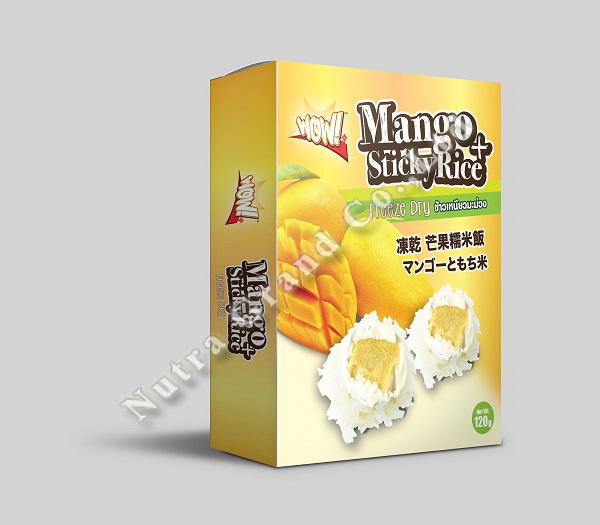 Freeze Dry Mango Sticky Rice